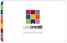 LiveOne20 card