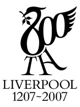 Liverpool 800th Birthday Logo