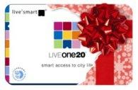 LiveOne20 Christmas Logo