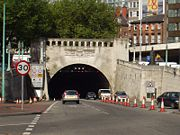 Queensway Tunnel. Image taken from Wikipedia
