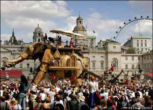 The Sultan's Elephant in London, 2006